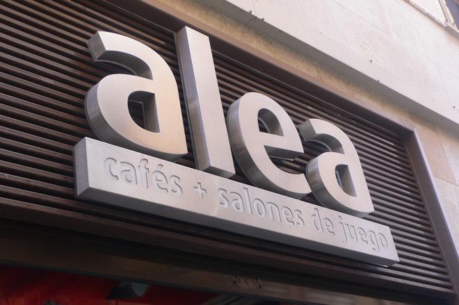 Alea. Cafes y salones de juego.